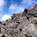 登山のヒザのトラブルにテーピング